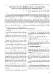 Hiện trạng sản xuất và đề xuất hướng canh tác hồ tiêu bền vững tại huyện Phú Giáo, tỉnh Bình Dương
