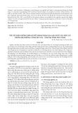 Yếu tố ảnh hưởng đến quyết định tham gia sản xuất lúa hữu cơ trong hệ thống canh tác lúa - tôm tại tỉnh Trà Vinh