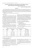 Đánh giá tác động của nano kim loại (sắt, đồng, coban) đến giống đậu tương HLĐN 29 ở Đồng Nai