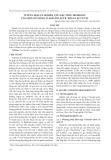 Tuyển chọn và nghiên cứu đặc tính probiotic của một số chủng vi khuẩn lactic phân lập từ vịt
