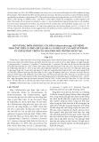 Một số đặc điểm sinh học của nấm Colletotrichum spp. gây bệnh thán thư trên cà phê chè tại Sơn La và hiệu lực của một số thuốc ức chế sự phát triển của nấm trên môi trường nhân tạo