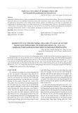 Nghiên cứu cải tiến hệ thống chia mẫu của máy sắc ký khí trong quá trình phân tích khí nhà kính (CH4 , N2O3, CO2 ) nhằm hạ thấp giới hạn phát hiện và giới hạn định lượng