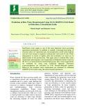 Prediction of rice water requirement using FAO-CROPWAT-8.0 model in Dehradun, Uttarakhand, India