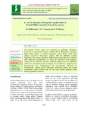 In vitro evaluation of fungicides against blast of foxtail millet caused by Pyricularia setariae