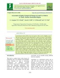 Assessment of spatio-temporal changes in land use pattern in north - eastern Karnataka region