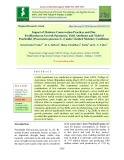 Impact of moisture conservation practices and zinc fertilization on growth parameter, yield attributes and yield of pearlmillet [pennisetum glaucum (L.)] under limited moisture conditions