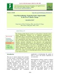 Nano phytopathology - Exploring future opportunities in the era of climate change