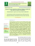 Biological properties of soil after cultivation of indigenous quality rice under different methods of establishment