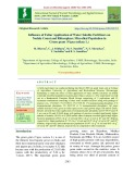 Influence of foliar application of water soluble fertilizers on nodule count and rhizosphere microbial population in green gram (Vigna radiata L.)