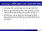 Bài giảng Kinh tế lượng 1: Chương 5 - Bùi Dương Hải (2017)