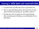 Bài giảng Kinh tế lượng 1: Chương 5 - Bùi Dương Hải (2018)