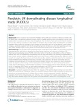Paediatric UK demyelinating disease longitudinal study (PUDDLS)