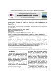 Application terrasar-X data for studying land subsidence in Hanoi city