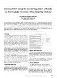 Các nhân tố ảnh hưởng đến việc vận dụng chế độ kế toán tại các doanh nghiệp nhỏ và vừa ở Đồng bằng sông Cửu Long