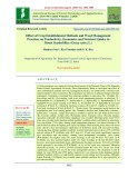 Effect of crop establishment methods and weed management practices on productivity, economics and nutrient uptake in direct seeded rice (Oryza sativa L.)
