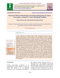 Interaction effect of plant density and nutrient management in cashew (Anacardium occidentale L.) under Jharkhand Condition