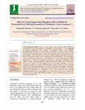 Effect of vermicompost, rock phosphate, psb and different bio-products on yield and economics of groundnut (Arachis hypogea L.)