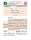 Value chain analysis of tea and constraints faced by the small tea growers in India with special reference to state Assam