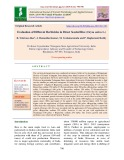 Evaluation of different herbicides in direct seeded rice (Oryza sativa L.)