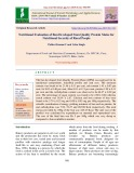 Nutritional evaluation of bun developed from quality protein maize for nutritional security of rural people
