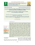 Assessment of energetics of rice with irrigation and nitrogen management practices under different establishment methods