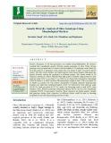 Genetic diversity analysis of okra genotypes using morphological markers