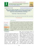 Effect of extracellular metabolites of trichoderma pseudokoningii on radial growth of fusarium oxysporum, colletotrichum capsici, rhizoctonia solani and sclerotinia sclerotiorum