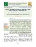 Assessment and mapping of irrigation water quality index of Bapatla mandal, Guntur district, Andhra pradesh, India