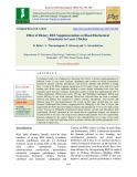 Effect of dietary REE supplementation on blood biochemical parameters in layer chicken
