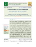Design and development of green pea depoding machine