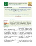 Effect of foliar application of different sources of nutrients on growth and yield of blackgram under irrigated conditions