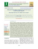 Zoning and trend analysis of temperatures for fruit crops in North-west India using GIS