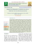 Integrated weed management in aerobic rice (Oryza sativa L.)