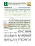 Stability estimates for pod yield and its component traits in groundnut (Arachis hypogaea L.) under farmer's participatory varietal selection