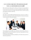Các cách đào tạo nhân viên kinh doanh giúp nâng cao lợi nhuận doanh nghiệp