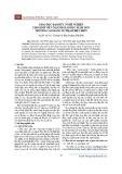 Giáo dục đạo đức nghề nghiệp cho sinh viên ngành Giáo dục Mầm non trường Cao đẳng Sư phạm Điện Biên