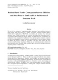 Residual based test for cointegration between oil prices and stock prices in saudi Arabia in the presence of structural break