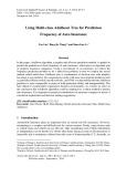 Using multi-class adaboost tree for prediction frequency of auto insurance