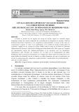 L'évaluation des apports du voyage de terrain à la formation de tourisme (Dép. de Français, univ. de Pédagogie de Ho Chi Minh-ville)