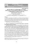Một số ý kiến về vấn đề độ khó của văn bản trong chuẩn cốt lõi chương trình Ngữ văn Hoa Kì và định hướng ứng dụng ở Việt Nam