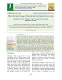 Effect of hermetic storage on microbial and color quality of green gram