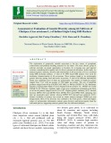Assessment or evaluation of genetic diversity among 66 cultivars of chickpea (Cicer arietinum L.) of Indian origin using SSR markers