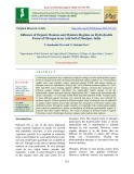 Influence of organic manures and moisture regimes on hydrolysable forms of nitrogen in an acid soil of Manipur, India