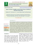 Impact of climate variability on seed yield of onion in mid hills of Himachal Pradesh, India