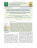 Influence of plant growth regulators on seed germination and regeneration of shoots and roots in chili (Capsicum annuum L.)