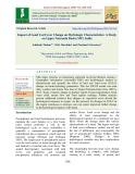Impact of land use/cover change on hydrologic characteristics: A study on upper narmada basin (MP), India