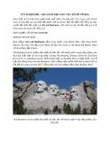 Núi Rushmore - Địa danh độc đáo của xứ sở cờ hoa