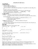 Đề cương ôn tập Toán 6 học kì 1