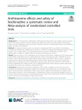 Antihistamine effects and safety of fexofenadine: A systematic review and Meta-analysis of randomized controlled trials