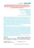 Cải thiện phương pháp tưới tiêu để giảm thiểu độ mặn trong vùng rễ nhằm nâng cao năng suất lúa ở vùng ven biển phía Bắc Việt Nam thông qua kỹ thuật đồng vị và các kỹ thuật khác liên quan